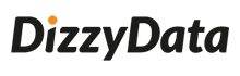 DizzyData logo color